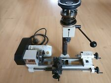 Emco Unimat 3 Lathe with Vertical column for drilling and milling