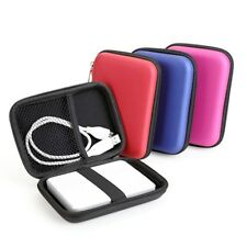 "Hard Drive Disk HDD Carry Case Cover 2.5"" External Cable-Pouch Bag For  NEU."