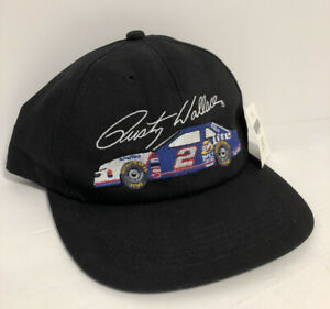 Vintage NASCAR Miller Lite Rusty Wallace #2 Hat Cap K Products Snapback USA New