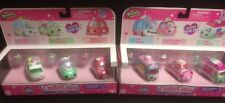 SHOPKINS CUTIE CARS LOT OF 2 PACKS #'s 25 - 27 CANDY COMBO 28 - 30 FREEZY RIDERS