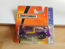 Matchbox CHevy Van in Purple on Blister