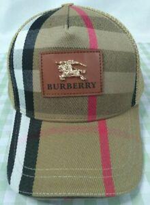 Burberry Baseball Hat Adjustable Cap Brown