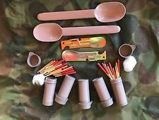 Army Matches Can Opener Survival Spoon Multicam EDC Tin SAS Ration Pack Mre Fred