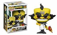 "CRASH BANDICOOT DR. NEO CORTEX 3.75"" POP VINYL FIGURE POP GAMES FUNKO 276"