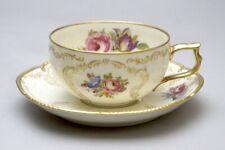 Rosenthal Sanssouci Elfenbein Teetasse mit Untertasse.