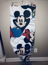 Wamsutta Disney Minnie Mickey Mouse Twin Fitted Sheet Cutter Fabric Material