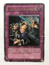 YuGiOh Dimensional Wall CRV-EN059 | Ultimate Rare UNL Ed | Damaged ITALIAN