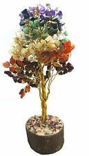 Multistone Spiritual Reiki Tree Feng Shui Vastu Table Home Décor Crystal