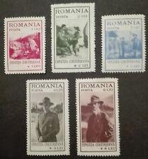 ROMANIA-RUMUNIA STAMPS MLH - Scouting, 1931, *