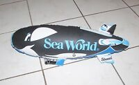 VINTAGE  4 SHAMU INFLATABLE TOYS COLLECTIBLE  SEA WORLD IN ORIGINAL PACK