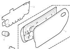 MGF / MG TF INNER DOOR PLASTIC LINER ( WATER SHEDDER ) DRIVERS SIDE GENUINE PART