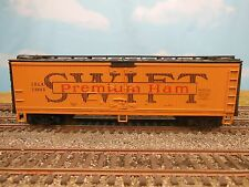 Ho Scale Athearn Swift Premium Ham Wood 40' Reefer