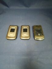 Lot of 3 Flip Phones, Samsung & Motorola, Verizon