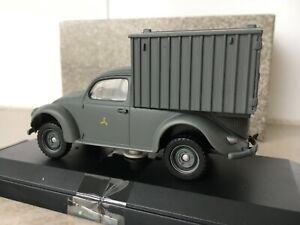 Vitesse 1:43 VW Volkswagen Beetle Bug Model Lieferwagen Type 83 Wehrmacht Truck