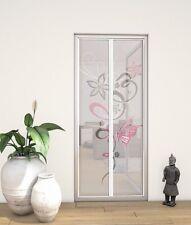 Moustiquaire à lamelles fermeture aimantée pour porte - 100 x 210 cm - Motifs gr