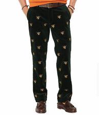 NWT Mens 34 32 Polo Ralph Lauren Classic Embroidery Fox Horn Corduroy Pants