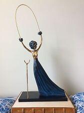 Salvador Dali Alice In Wonderland Bronze Sculpture - Authentic With Certificates