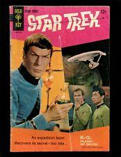 Star Trek #1 (Gold Key) VGF William Shatner Leonard Nimoy Photo Cover Kirk Spock