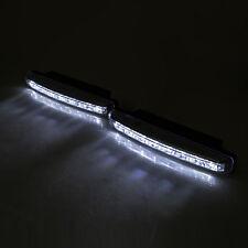 """Luces de Circulación Diurna DRL Led Blanco Luz Antiniebla Xenon 12v 2 X 6.5"""""""
