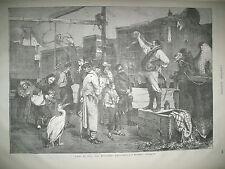 MENAGERIE CIRQUE DOMPTEUR SERPENT CHARLES-QUINT COSTUME DE SACRE GRAVURES 1866