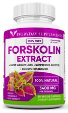 Forskolin Maximum Strength 100% Pure 3400mg Rapid Results! Forskolin Extract