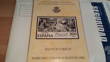 1981 CARPETA LIBRO OFICIAL DE CORREOS ESPAÑA COMPLETO **OFERTA ÚNICA Y ESPECIAL