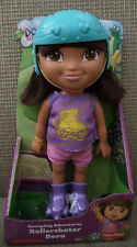 DORA THE EXPLORER EVERYDAY ADVENTURES ROLLERSKATER DORA W/ REALISITC HAIR NU