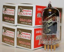 Matched Quads Genalex Gold Lion 12AU7 / ECC82 / B749 tubes, Brand New