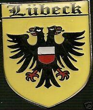 Lubeck - German Hat Lapel Pin HP6037