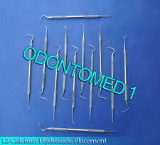 12 Calcium Hydroxide Placement  Cavity Liner surgical Dental Instruments