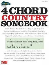 The 4-Chord Country Songbook Strum & Sing Sheet Music Easy Guitar Book 000114936