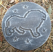 Lion plaque concrete mold plaster mold