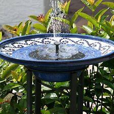 Fontaine Solaire Extérieur de Jardin Décoration Jardin Pompe a Eau Moderne