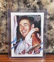2021 Topps Series 1 Ted Williams #154 SP Photo Variation Red Sox Pack Fresh