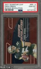 2001 Quantum Leaf Revolution Drew Brees RC Rookie /4000 PSA 10 GEM MINT POP 6