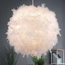 Luxus Hänge Lampe Ess Zimmer Tisch Pendel Beleuchtung Feder Kugel Leuchte weiß