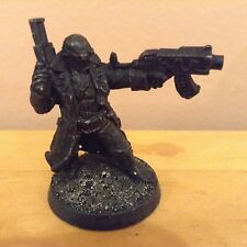 Necromunda Delaque Leader w/ Boltgun Metal Figure Warhammer 40K C130