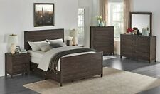 Solid Wood Storage Bed Frame And Furniture Queen, King, or Cal King Bedroom Set
