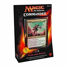 MTG Commander 2015 Edition Magic the Gathering  Wade Into Battle Red White