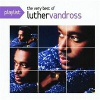 LUTHER VANDROSS-PLAYLIST: THE VERY BEST OF LUTHER VANDROSS-JAPAN CD C25