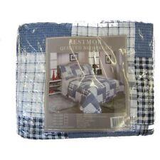 Édredons et couvre-lits bleus pour chambre à coucher