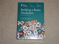 Teaching Company Great Courses Building a Better Vocabulary NEW DVD