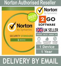 Norton Internet Security Standard 2020 1 User 1Year License Code Email Delivery