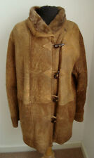 LADIES' TOSCANA SHEEPSKIN SHEARLING DUFFEL COAT -  SIZE 14 - 16 # #2968