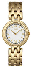 Timex Women's Watch Classic t2m940 (Stainless Steel Band Gold Face Cream)