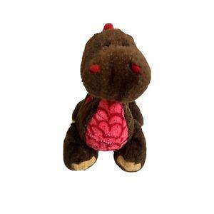 Ganz Webkins Cocoa Dinosaur Soft Plush Stuffed Animal Toy NO CODE HM338 22cm