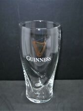 Guinness Embossed Harp Pint Glass 20oz Brand New 100% Genuine