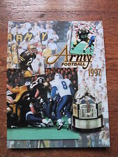 1997 Army Football West Point Military Academy Media Guide Yearbook Program Book