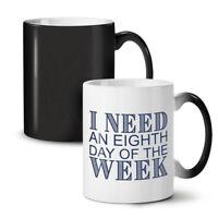 Long Weekend NEW Colour Changing Tea Coffee Mug 11 oz | Wellcoda