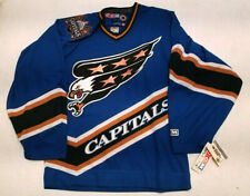 New with TAgs Washington Capitals jersey CCM Mens Small S blue eagle NWT